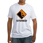 Stoned Fitted T-Shirt