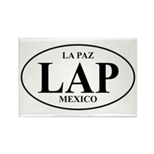 LAP La Paz Rectangle Magnet (10 pack)