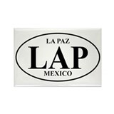 LAP La Paz Rectangle Magnet