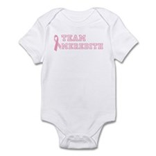 Team Meredith - bc awareness Infant Bodysuit