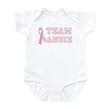 Team Angie - bc awareness Infant Bodysuit