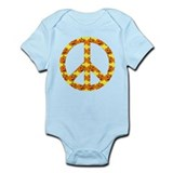Halloween Peace Sign Onesie