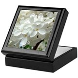 White Lilac Keepsake Box