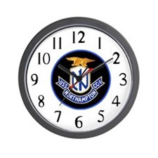 USS Northampton (CC 1) Wall Clock
