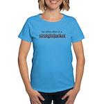Straightjacket Women's Aqua T-Shirt