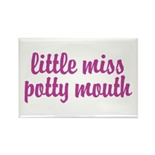 Potty Mouth Rectangle Magnet (100 pack)