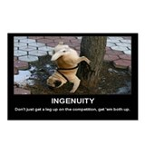 Ingenuity Dog Motivational Postcards (Package of 8