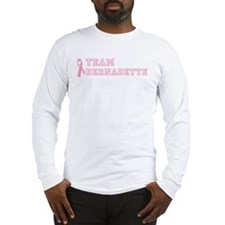 Team Bernadette - bc awarenes Long Sleeve T-Shirt