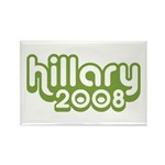 Hillary 2008 Rectangle Magnet (100 pack)