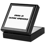 Honk If You Speak Latin! Keepsake Box