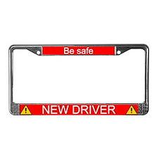 New Driver License Plate Frame