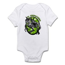 Chupacabra with Background 4 Infant Bodysuit