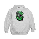 Chupacabra with Background 5 Hoody