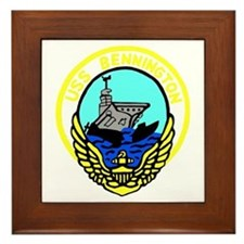 USS Bennington (CV 20) Framed Tile