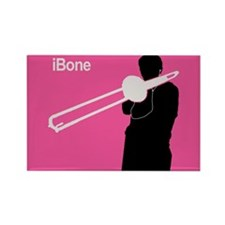 iBone Trombone Rectangle Magnet