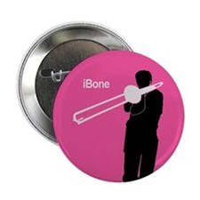 "iBone Trombone 2.25"" Button"