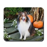 Harvest Sheltie Mousepad