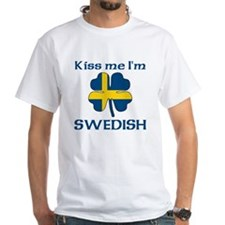 Kiss Me I'm Swedish Shirt