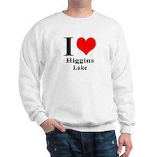 I heart Higgins Lake Sweatshirt