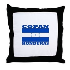 Copan, Honduras Throw Pillow