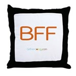 Girlfriendology Throw Pillow
