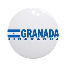 Granada, Nicaragua Ornament (Round)