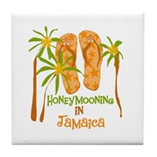 Honeymoon Jamaica Tile Coaster