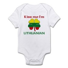 Kiss Me I'm Lithuanian Infant Bodysuit