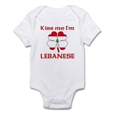 Kiss Me I'm Lebanese Infant Bodysuit