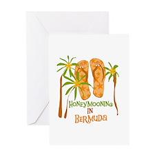 Honeymoon Bermuda Greeting Card