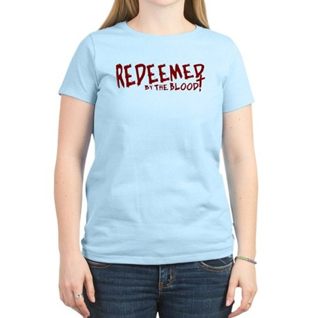 Redeemed by the Blood Women's Light T-Shirt
