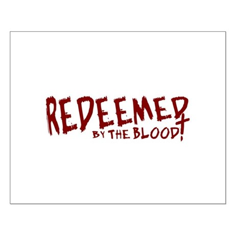 Redeemed by the Blood Small Poster