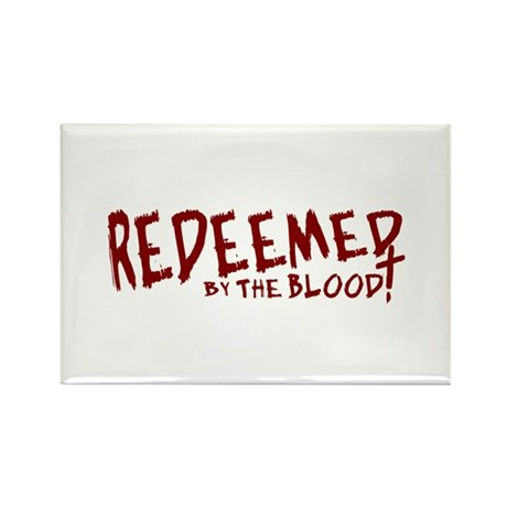Redeemed by the Blood Rectangle Magnet (100 pack)