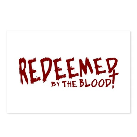 Redeemed by the Blood Postcards (Package of 8)