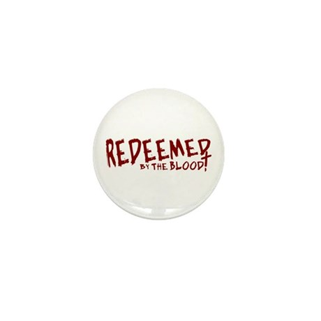 Redeemed by the Blood Mini Button (100 pack)