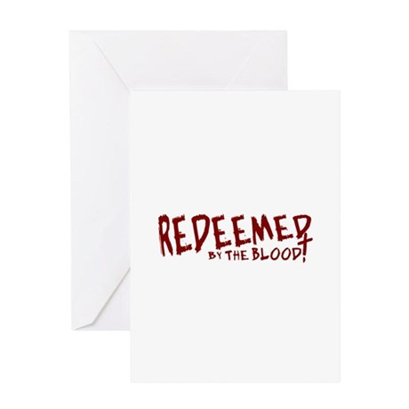 Redeemed by the Blood Greeting Card
