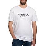 FREE OJ (again) Tshirt Fitted T-Shirt