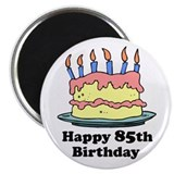 Happy 85th Birthday 2.25&quot; Magnet (100 pack)