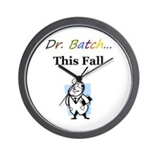 Dr. Batch Wall Clock