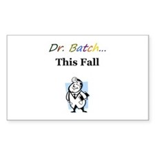 Dr. Batch Rectangle Decal