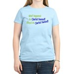 What Happens In Clarks Summit Women's Light T-Shir