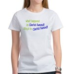 What Happens In Clarks Summit Women's T-Shirt