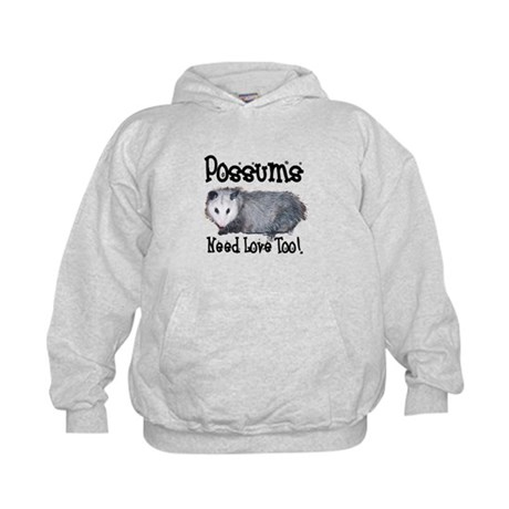 Possums Need Love Kids Hoodie