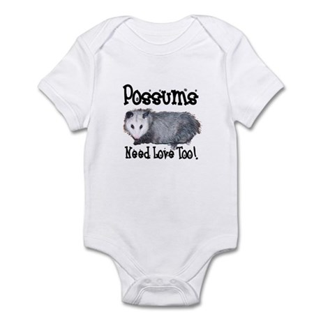 Possums Need Love Infant Bodysuit