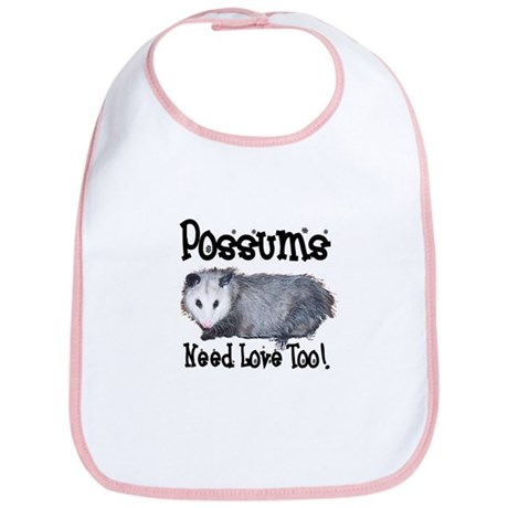 Possums Need Love Bib