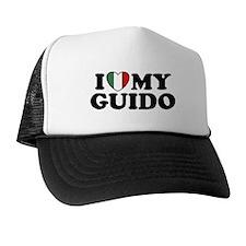 I Love My Guido Trucker Hat