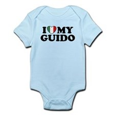 I Love My Guido Infant Bodysuit