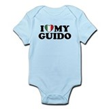 I Love My Guido Onesie