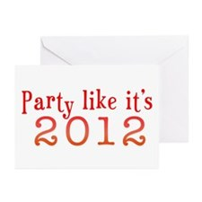2012 Party Greeting Cards (Pk of 10)