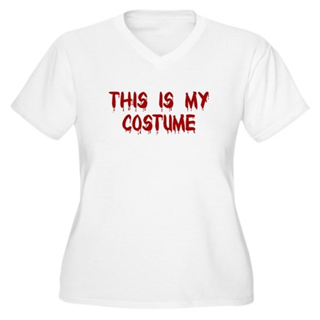 This is my Costume Women's Plus Size V-Neck T-Shir